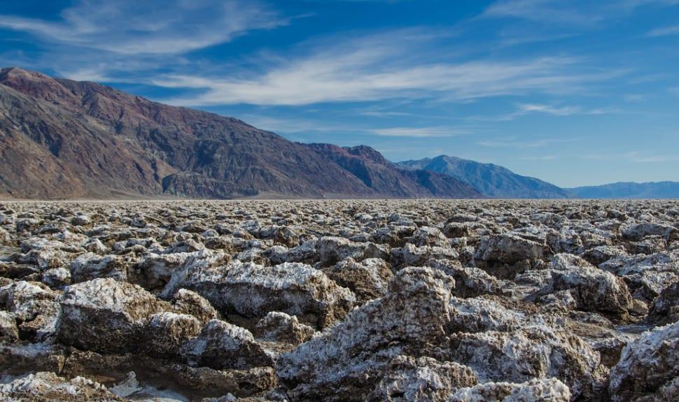 Devil's Golf Course in Death Valley - Best Season