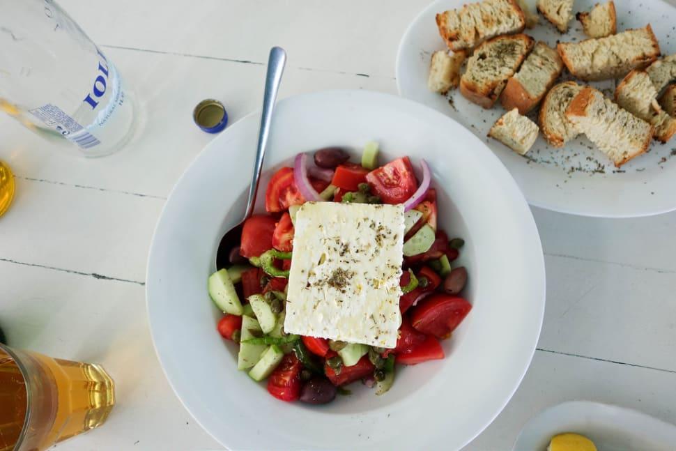 Horiatiki Salata in Athens - Best Season