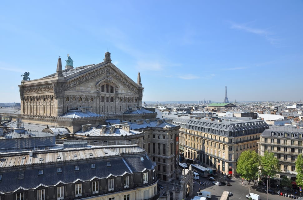Terrace of the Galeries Lafayette in Paris - Best Season
