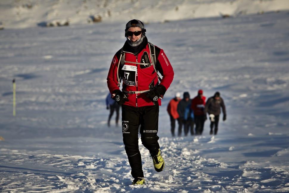 Polar Circle Marathon in Greenland - Best Time