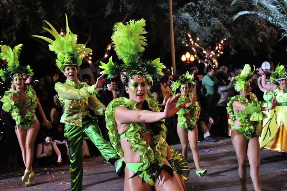 Best time for Madeira Carnival in Madeira