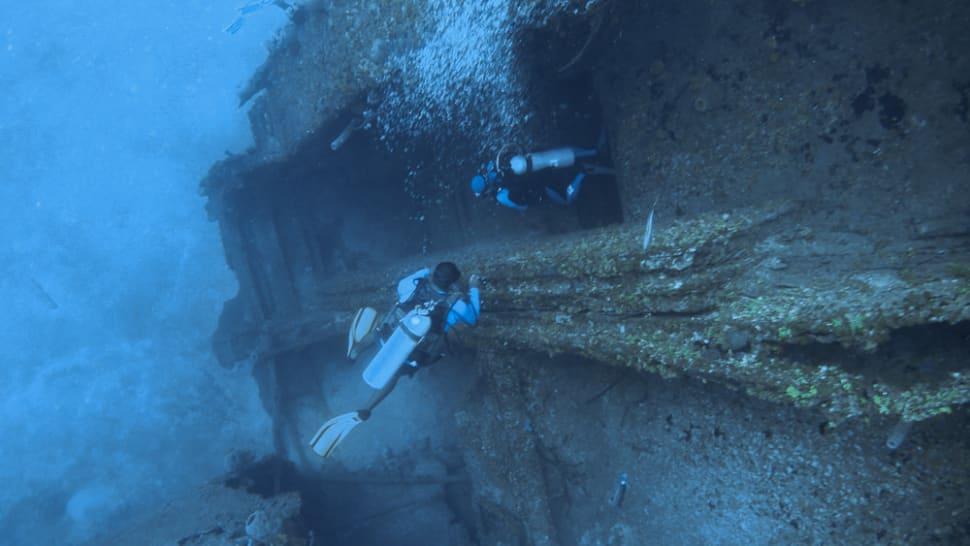Diving around Roatan Island