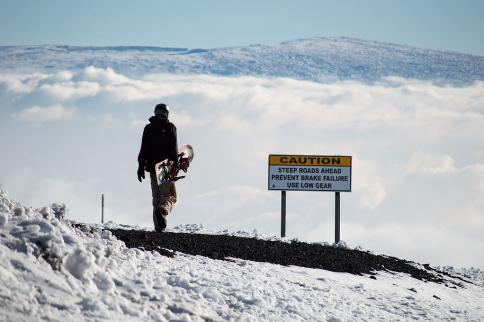 Best time for Skiing and Snowboarding Mauna Kea in Hawaii