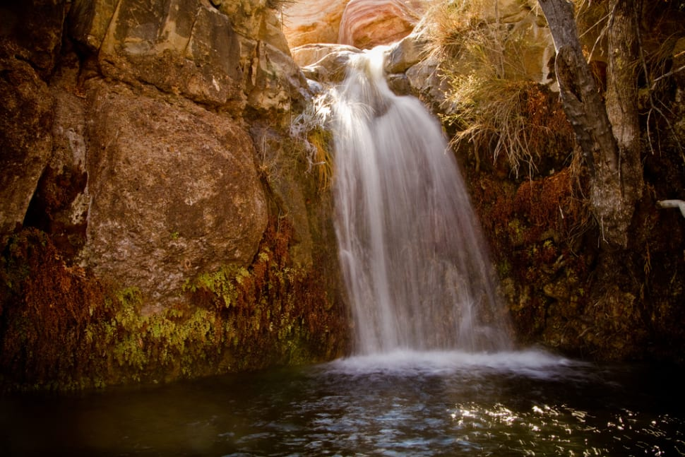 Waterfalls at Red Rock Canyon in Nevada - Best Time