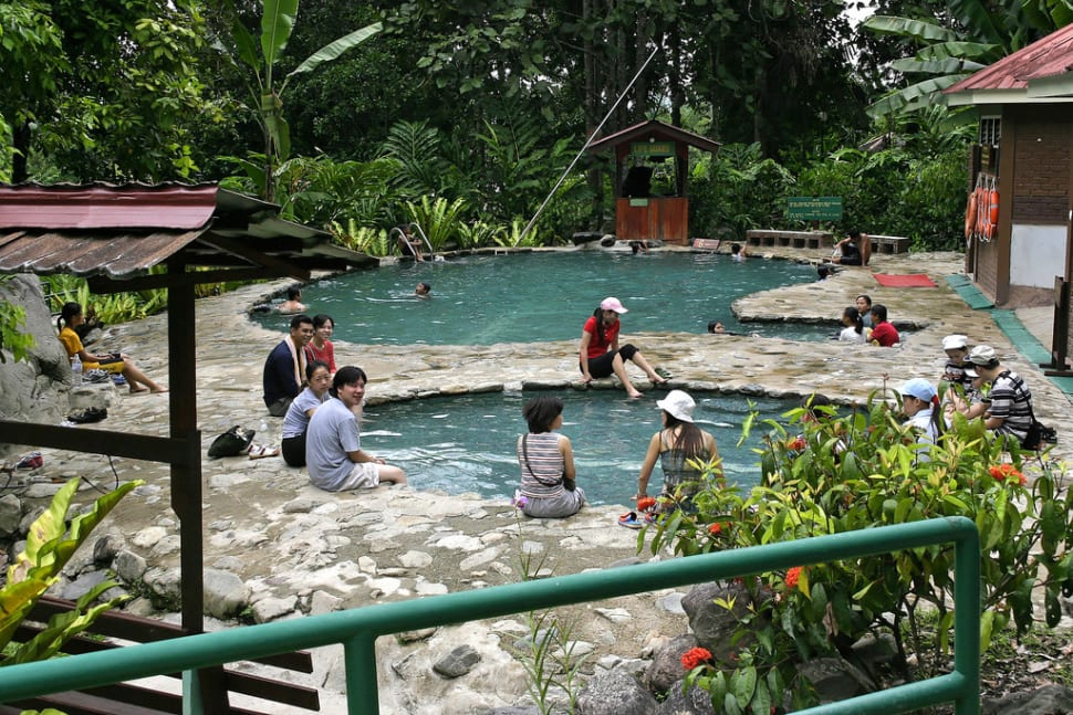 Hot Springs Off Season in Borneo - Best Time