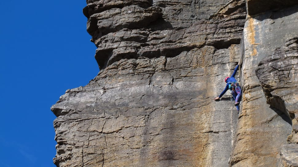 Climbing in the Grampians