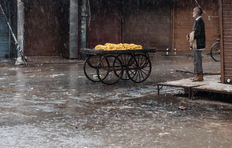 Monsoon Season in Taj Mahal and Agra  - Best Season