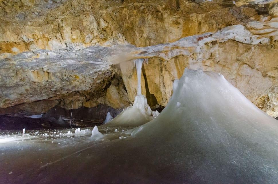 Dobšinská Ice Cave in Slovakia - Best Season