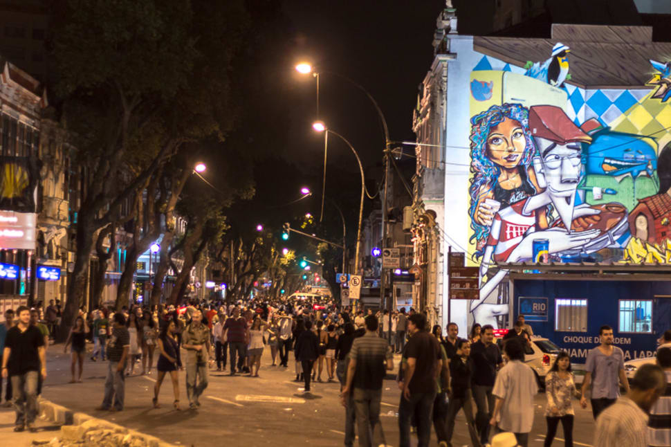 Lapa in Rio de Janeiro - Best Season