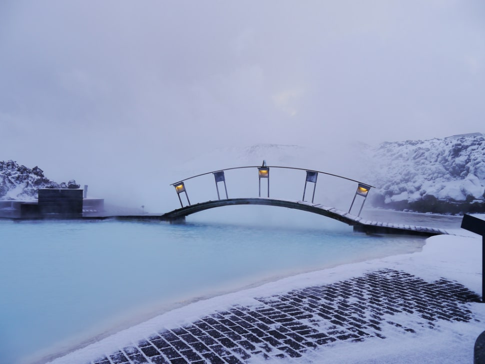 Blue Lagoon Flurry Bridge