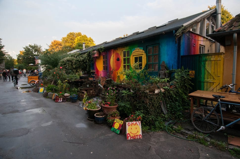 Best time to see Freetown Christiania in Copenhagen