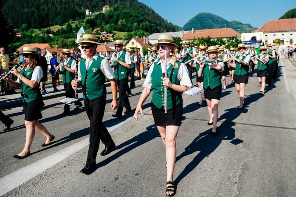 Best time for Beer and Flowers Festival (Laško Pivo in cvetje) in Slovenia