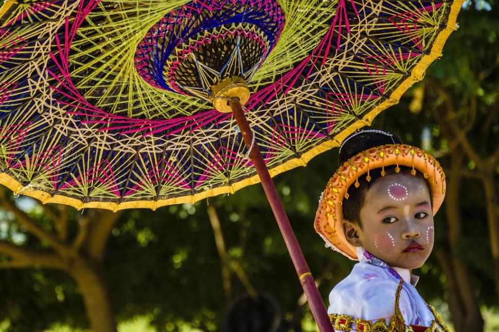 Novitiation Ceremony or Shinbyu in Myanmar - Best Time