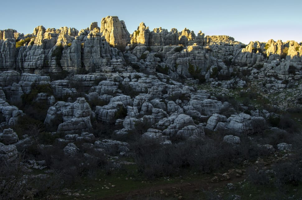 Best time to see El Torcal de Antequera National Park in Spain