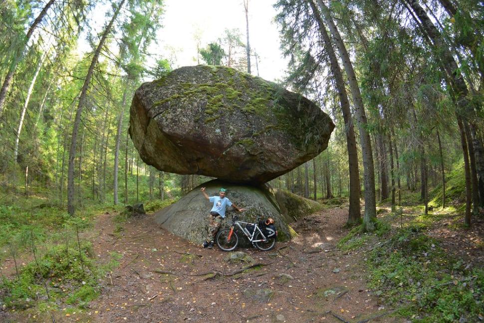 Best time for Kummakivi Balancing Rock in Finland
