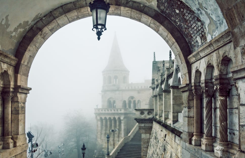 Winter Wonderland at the Fisherman's Bastion in Budapest - Best Time