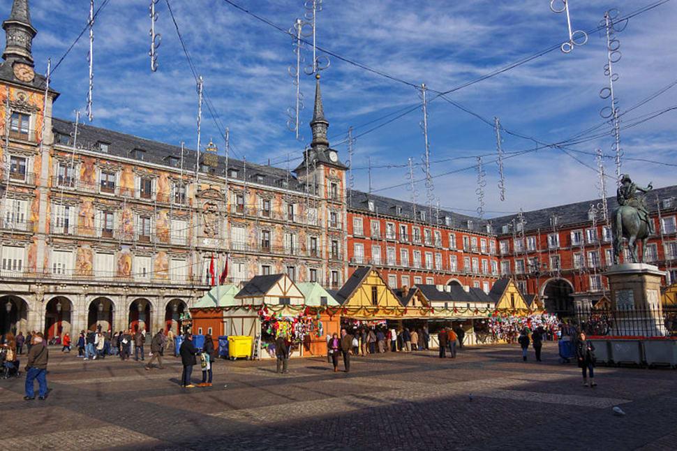 Best time for Christmas (Navidad) in Madrid
