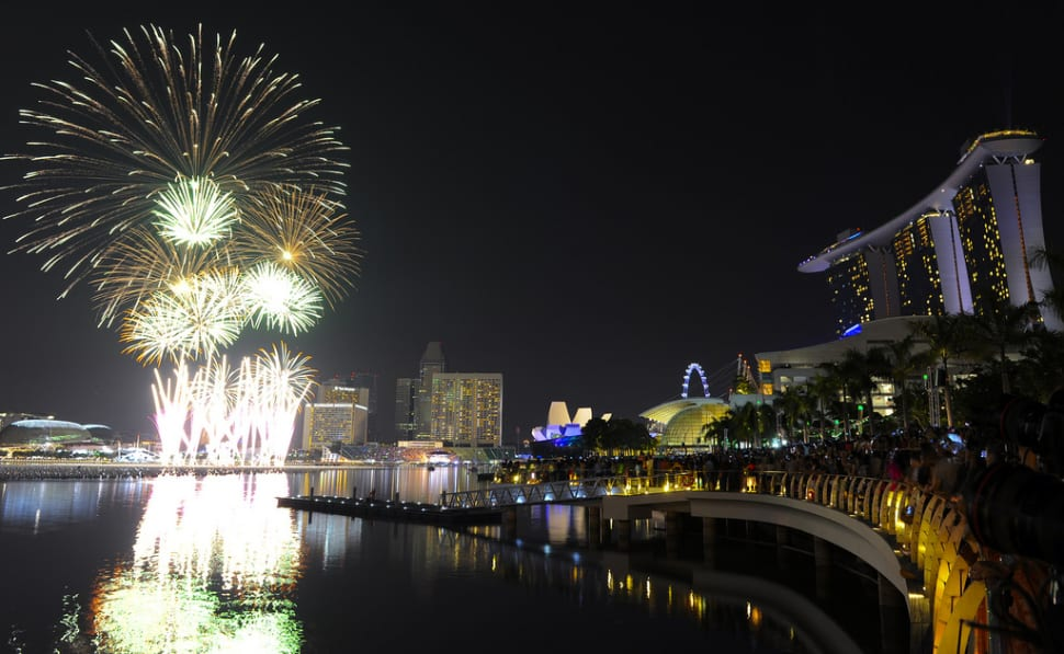 Marina Bay Singapore Countdown in Singapore - Best Season