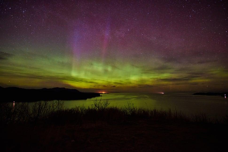 Monashka Bay on Kodiak Island