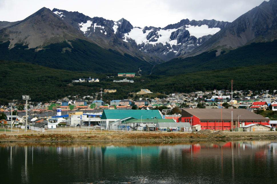 Tierra del Fuego. The city of Ushuaia.