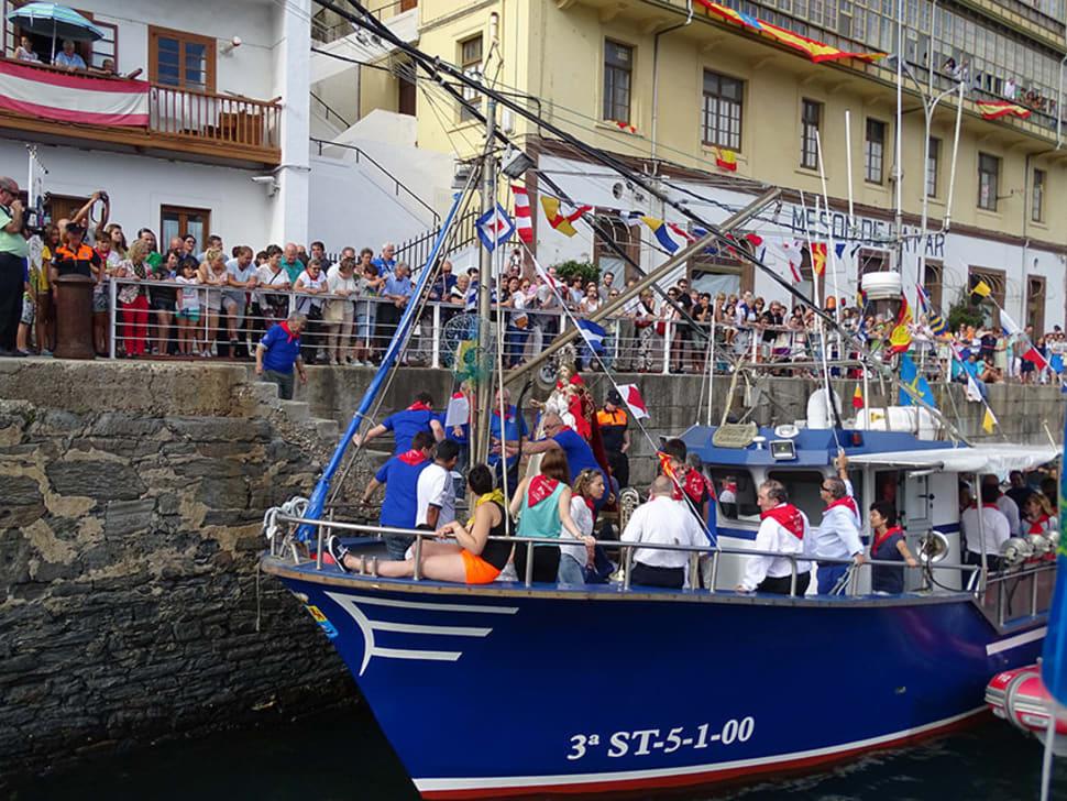 Luarca Maritime Procession of Virgen del Rosario in Spain - Best Time