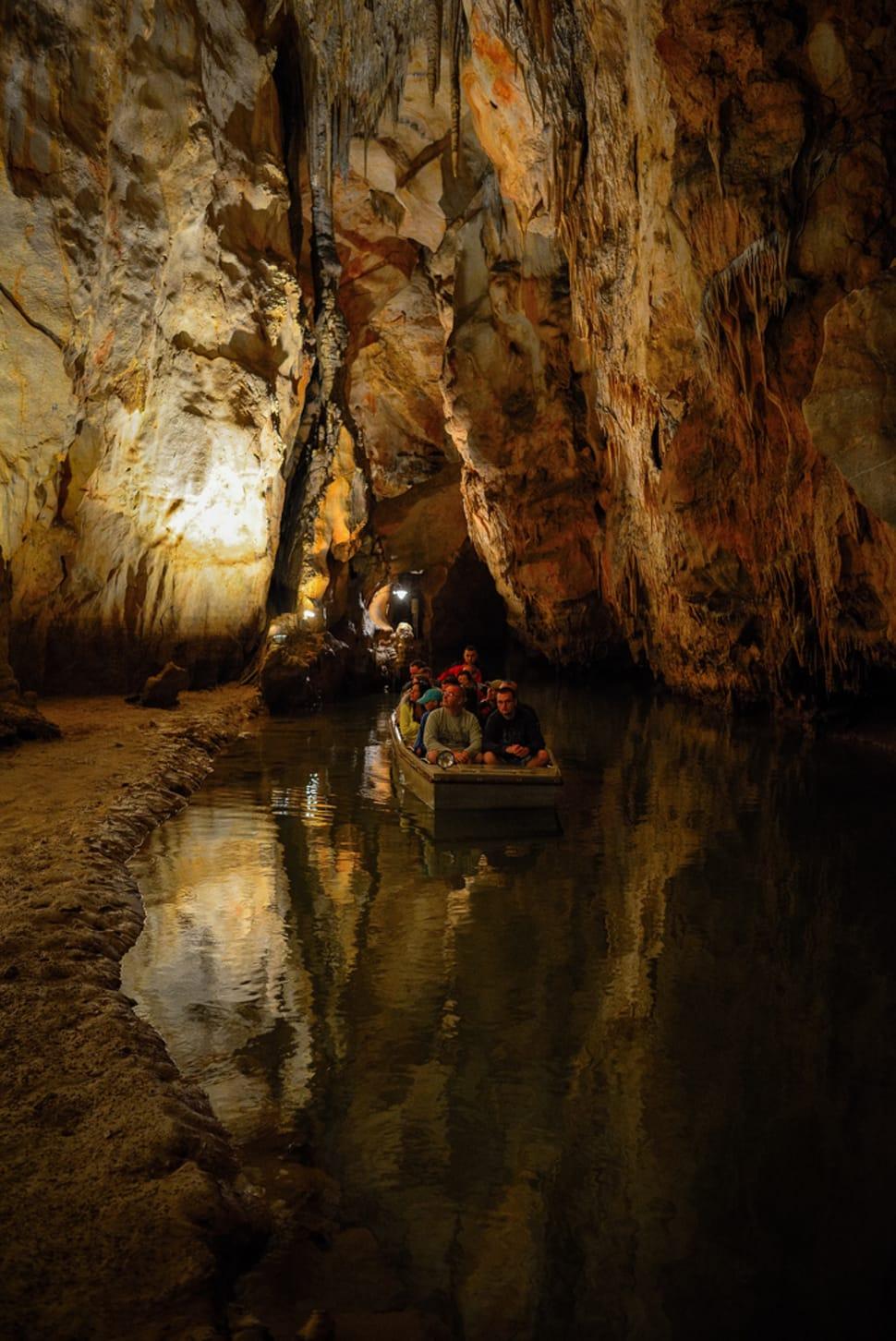 Boating in Domica Cave in Slovakia - Best Season