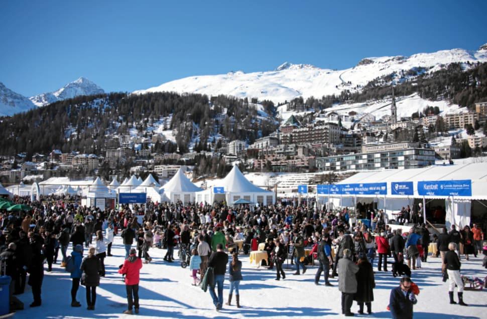 Best time for White Turf St. Moritz in Switzerland