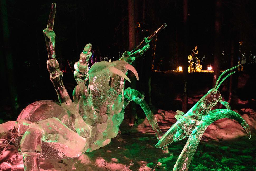 World Ice Art Championships in Alaska - Best Season