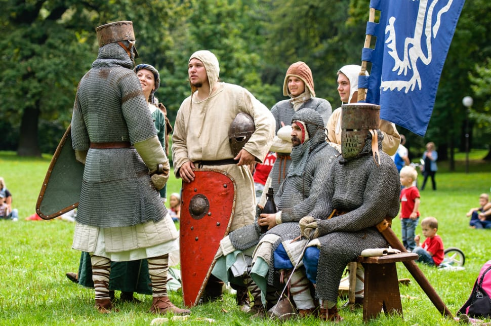 Medieval Knights Show at the Devín Castle in Slovakia - Best Time
