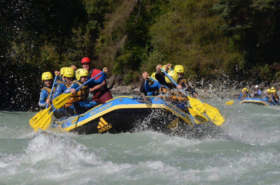 Best time for White Water Rafting in Austria