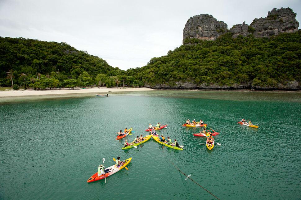 Kayaking on Koh Phangan in Thailand - Best Time