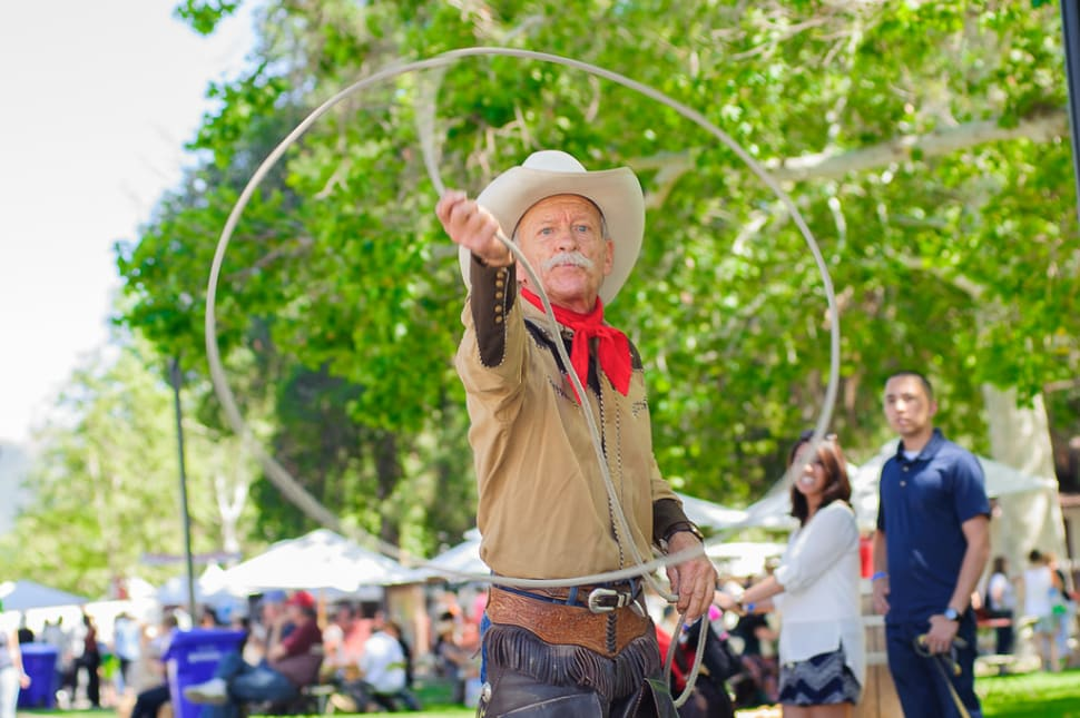 Best time for Santa Clarita Cowboy Festival in Los Angeles