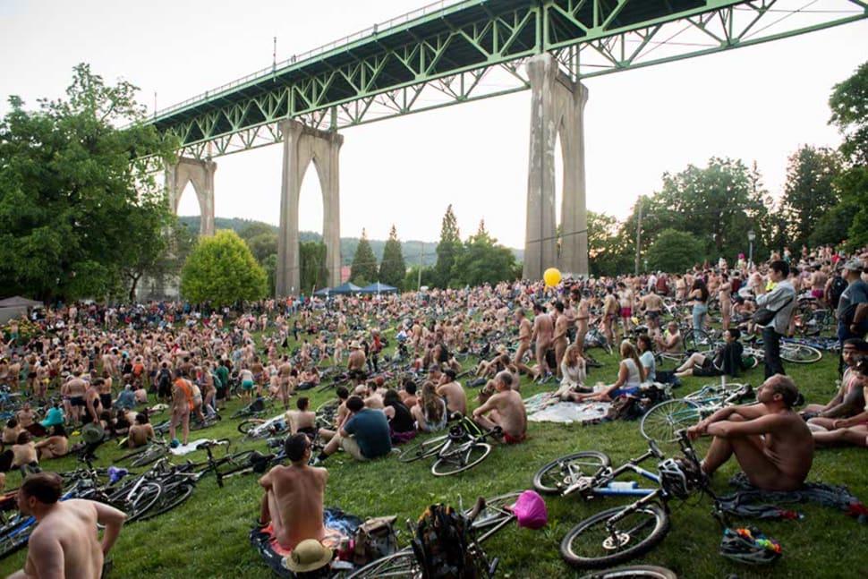 World Naked Bike Ride in Portland - Best Season