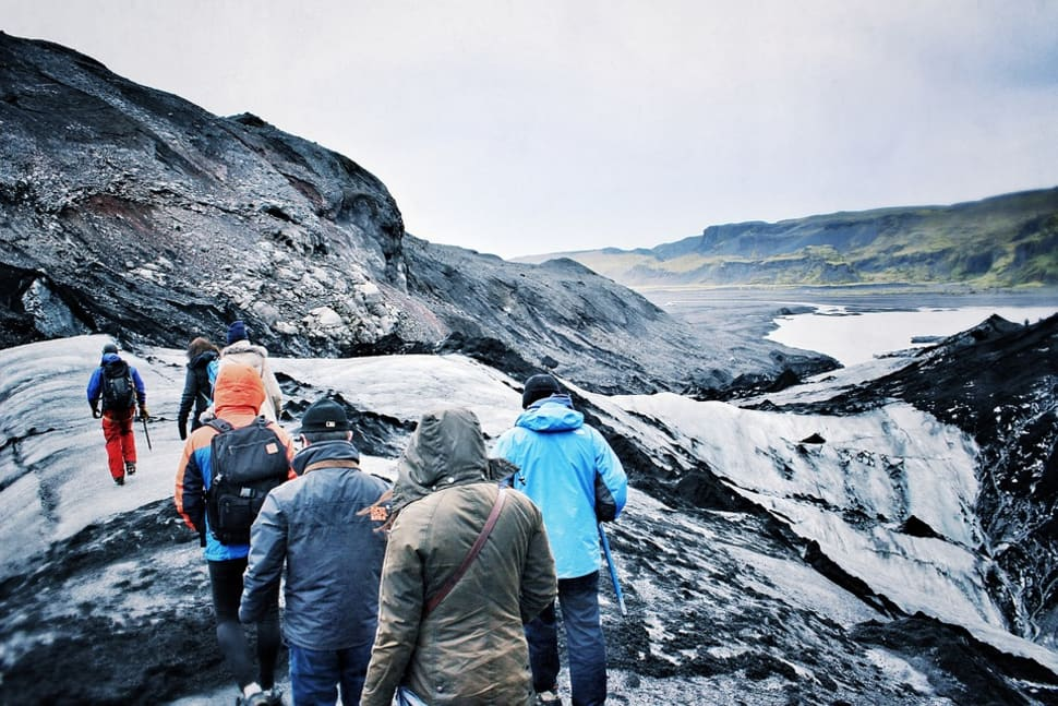 Best time for Glacier Walking in Iceland