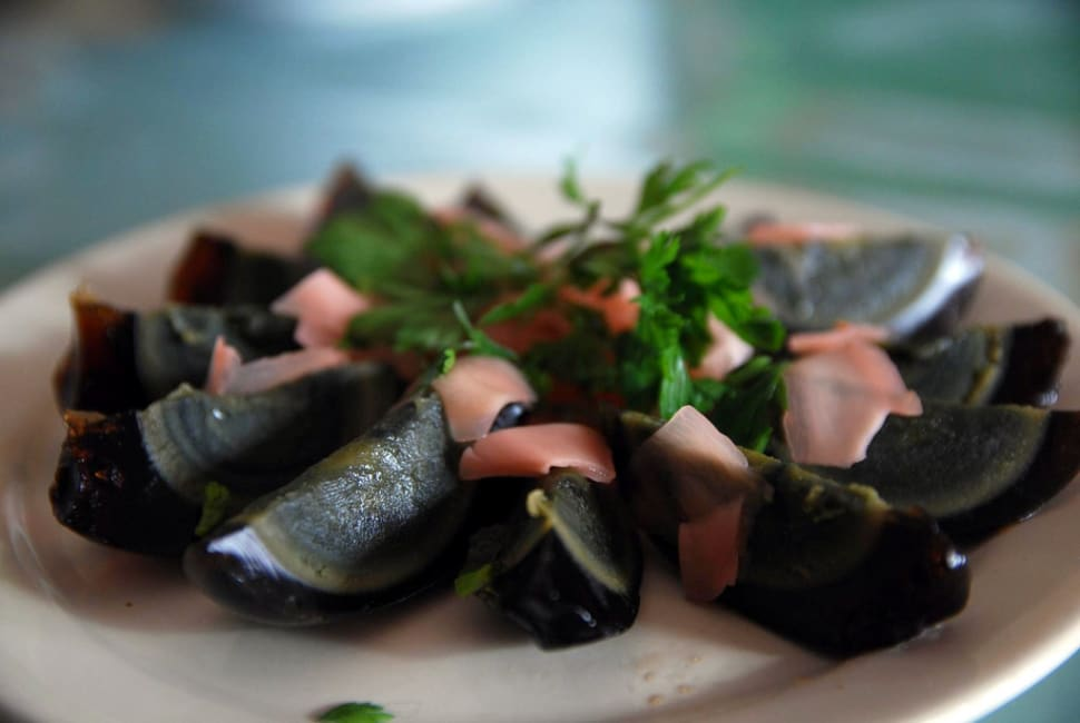 Best time to see Century Eggs in China
