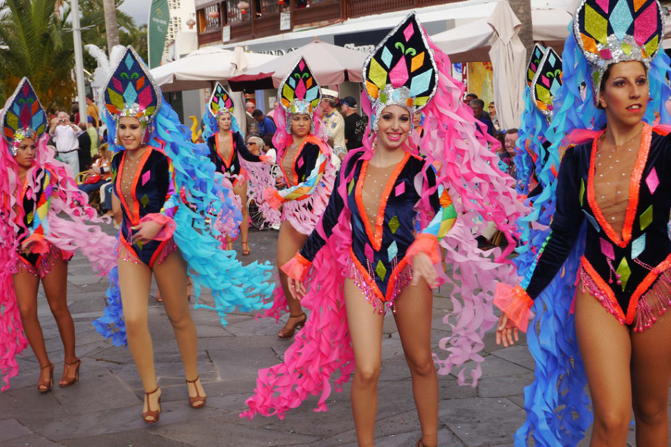 Carnival in tenerife canary islands (teaser)