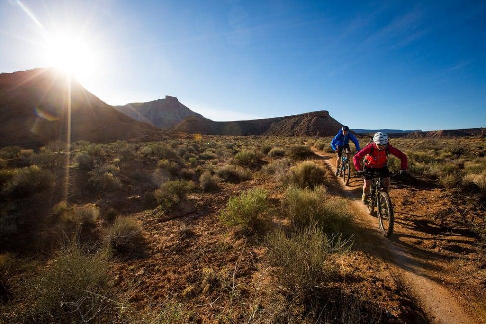 Biking in Zion National Park in Utah - Best Season