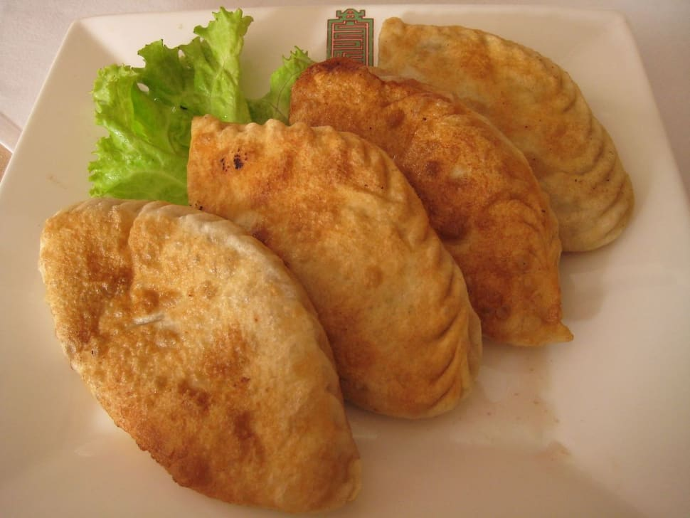 Khuushuur–deep-fried dumplings with of beef or mutton