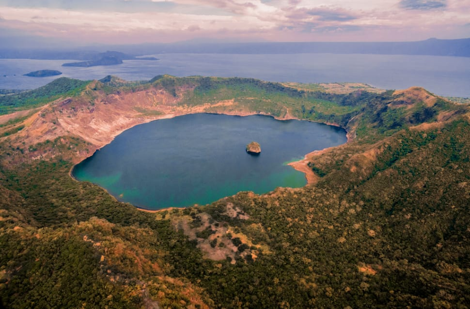Best time for Taal Volcano in Philippines