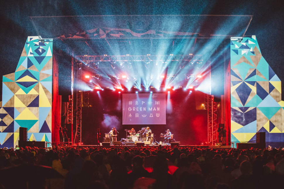 Best time to see Green Man Festival in Wales