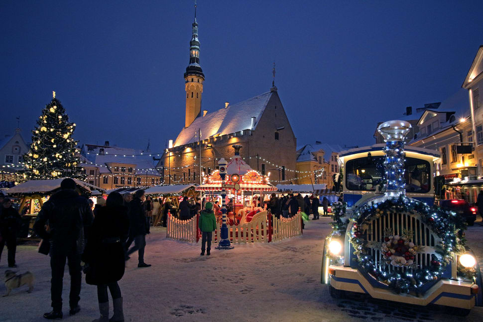 Best time for Christmas Market in Tallinn in Estonia