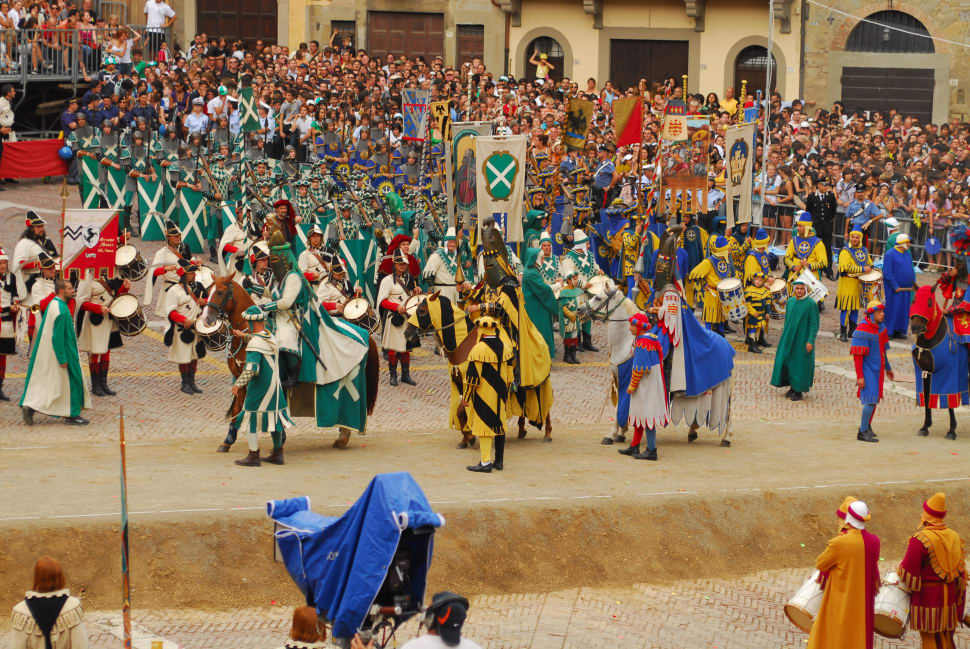 Giostra del Saracino (Joust of the Saracens) in Tuscany - Best Season