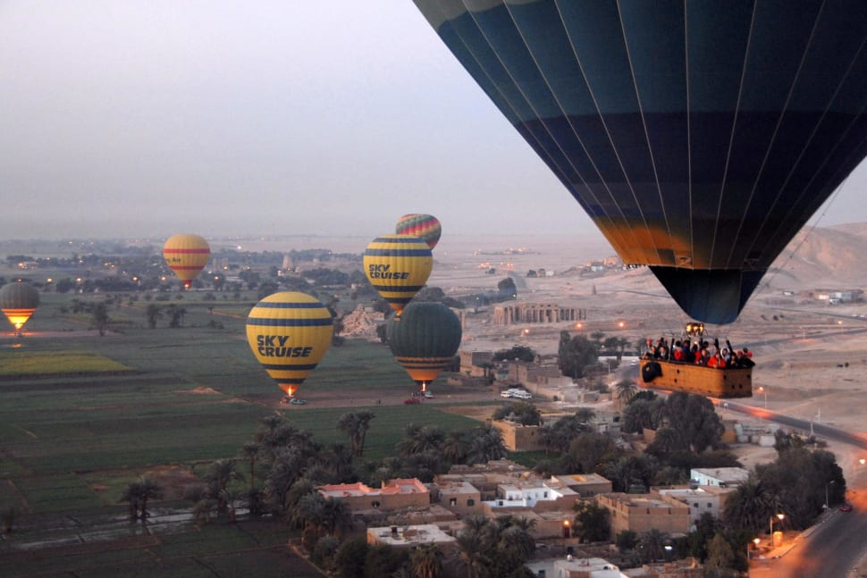 Hot Air Balloon Festival in Luxor in Egypt - Best Season