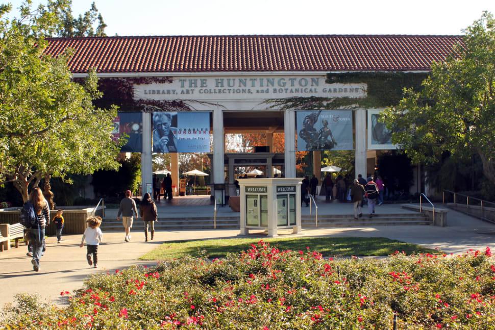 Huntington Library & Botanical Garden  — Cactus Garden