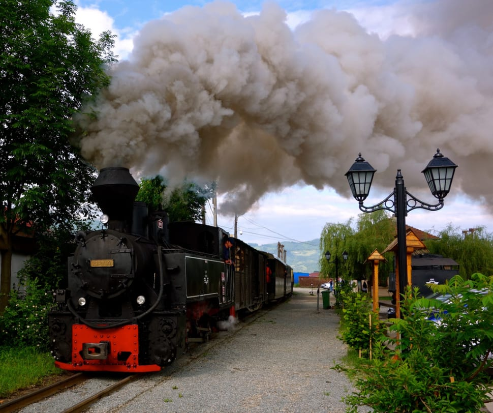 Mocăniţa Steam Train in Romania - Best Season