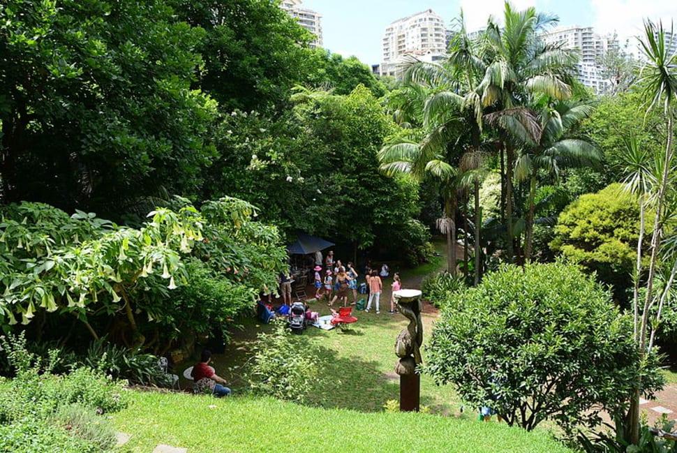 Best time to see Wendy's Secret Garden in Sydney