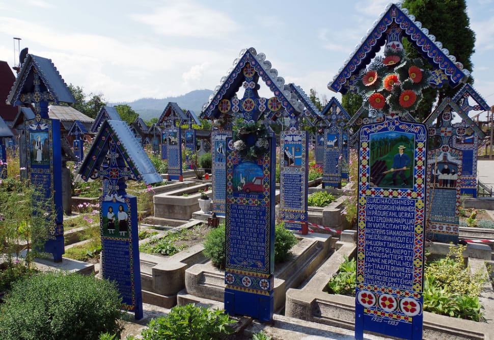 Best time for Merry Cemetery in Romania