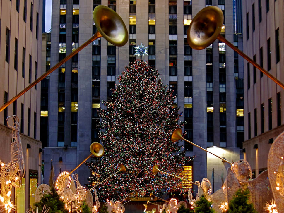 Best time for Rockefeller Center Christmas Tree in New York 2018 & Map