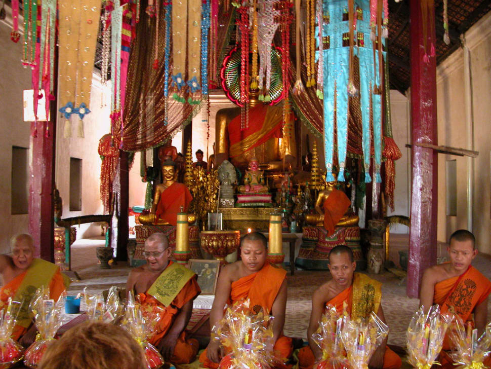 Best time to see Khmer New Year's Day in Cambodia