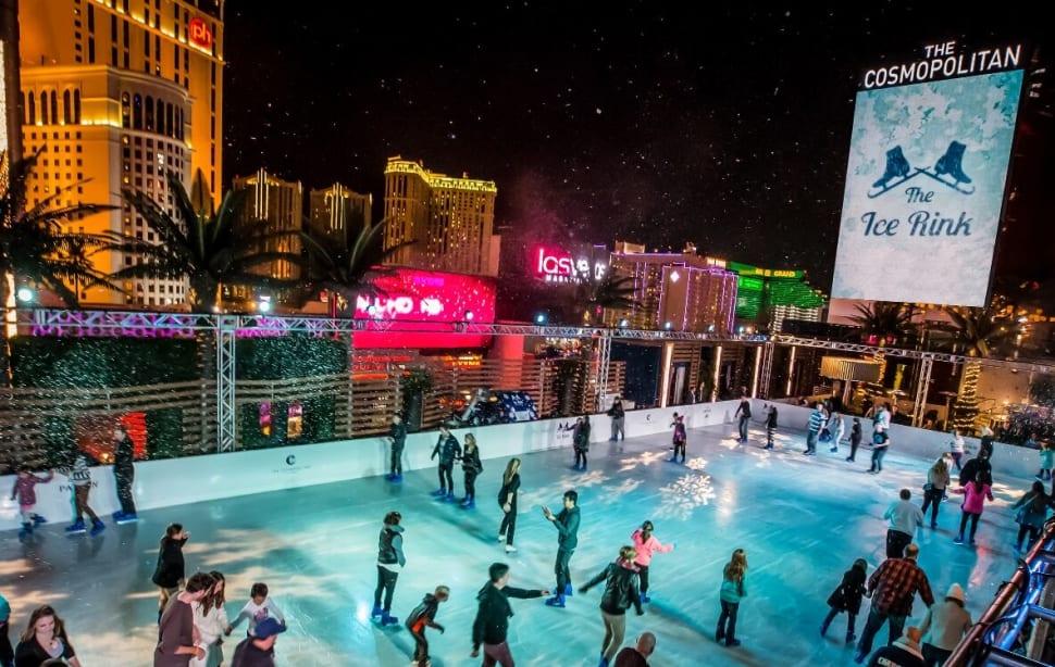 Ice Rink at the Cosmopolitan in Las Vegas - Best Season